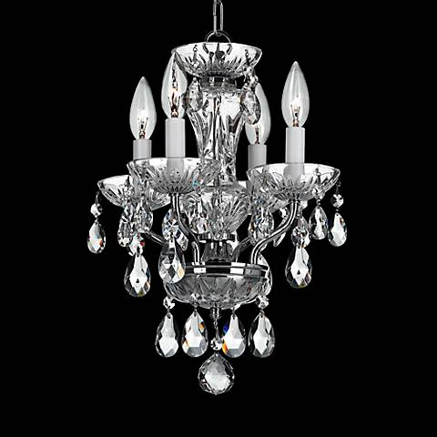 Crystorama traditional crystal 11w chrome mini chandelier 6r544 crystorama traditional crystal 11w chrome mini chandelier aloadofball Images