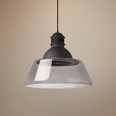 "Tech Lighting Stratton 22"" Wide Smoke Pendant"
