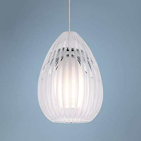 Tech Lighting FreeJack Ava Clear Glass Mini-Pendant