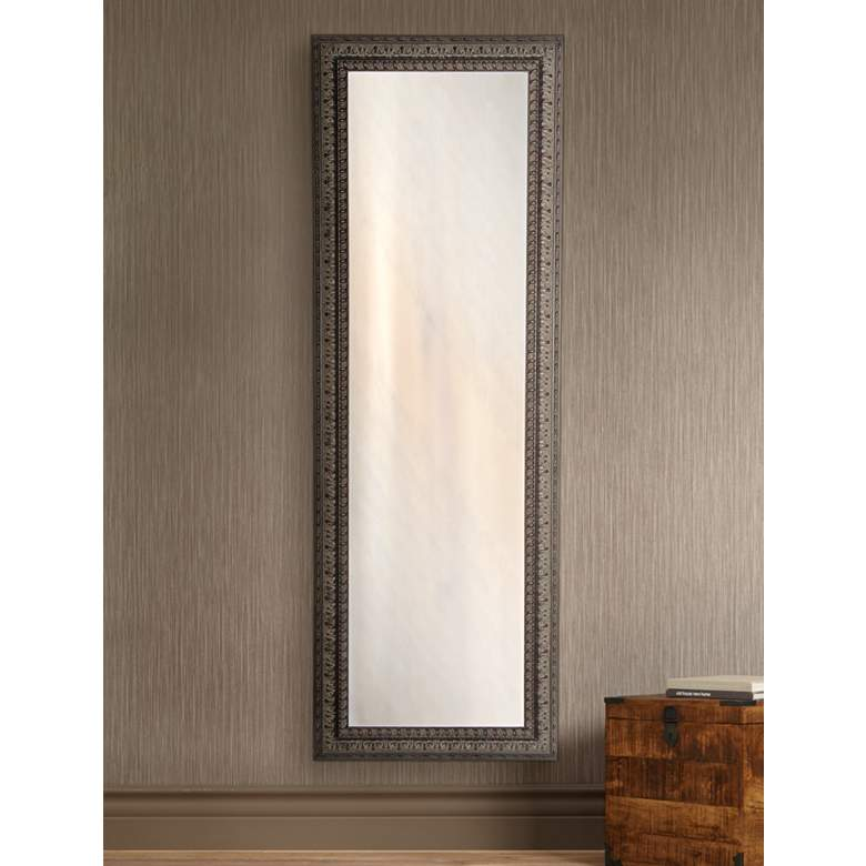 "Redding Dark Mahogany 26"" x 64"" Full Length Mirror"
