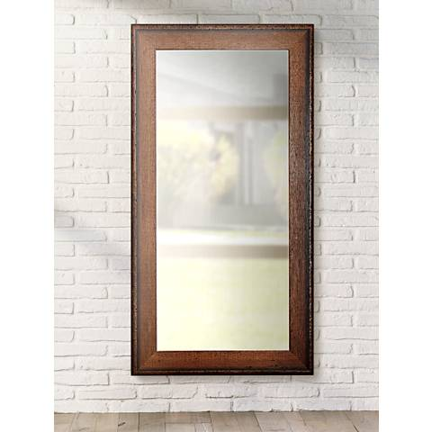 "Timber Estate Walnut 30 1/2"" x 65 1/2"" Full Length Mirror"