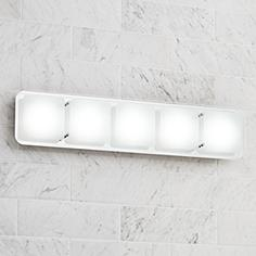 Led bathroom lighting led vanity lights and light bars lamps plus possini euro design elin 25 aloadofball Image collections