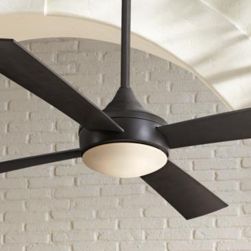 "52"" Minka Aire Aluma Wet Oil-Rubbed Bronze Ceiling Fan"