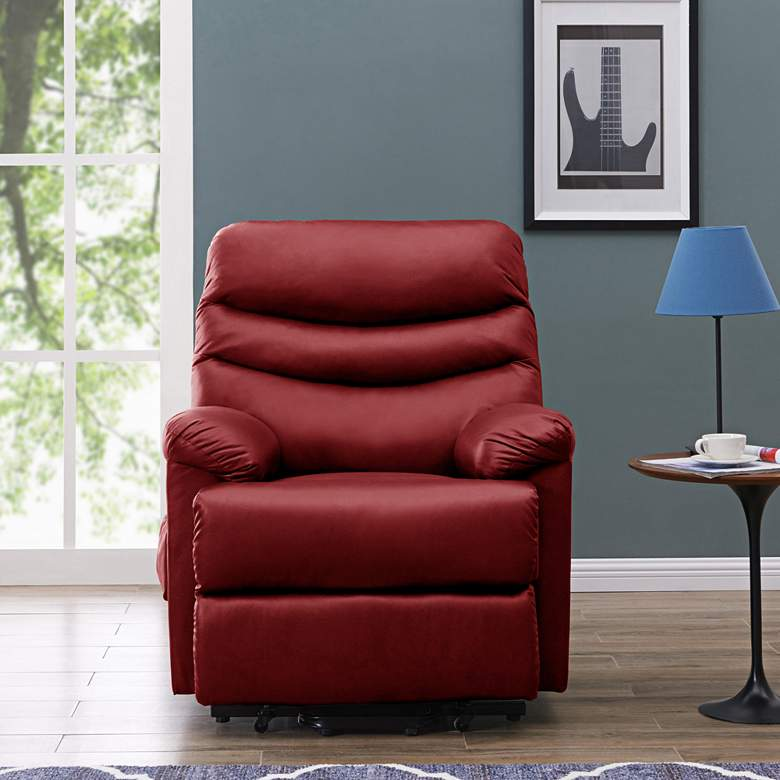 ProLounger® Burgundy Red Power Lift Recliner Chair