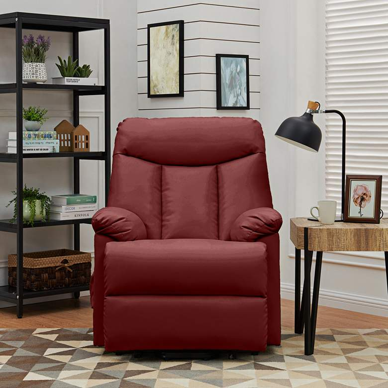 ProLounger® Burgundy Red Lift Recliner Chair