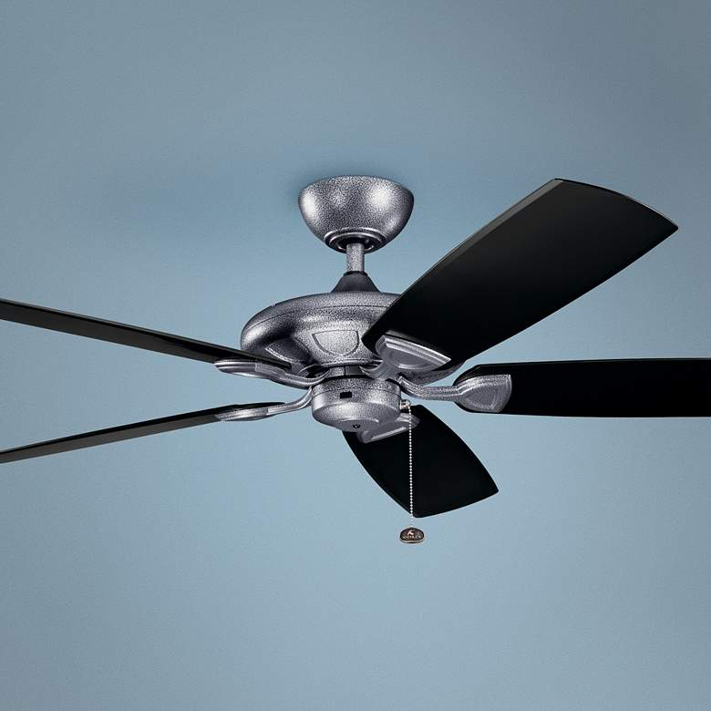 "60"" Kichler Kevlar Climates Steel Outdoor Ceiling Fan"