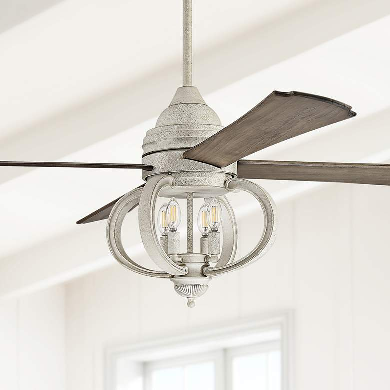 "60"" Craftmade Augusta Ceiling Fan in Cottage White"
