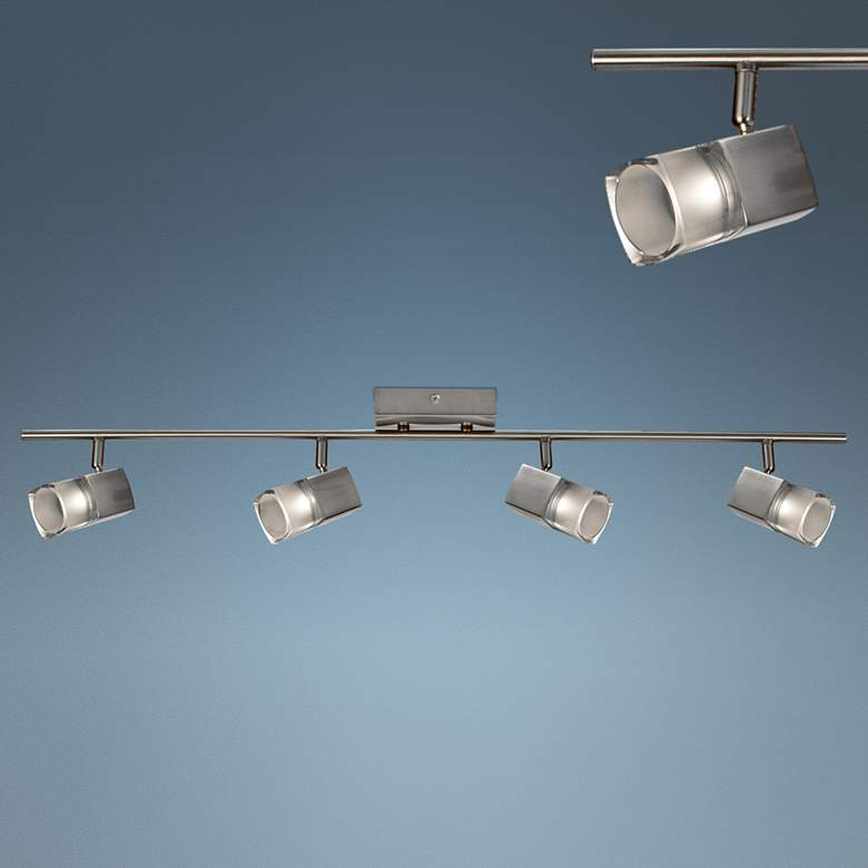 Metro 4-Light Satin Nickel JA8 LED Track Fixture