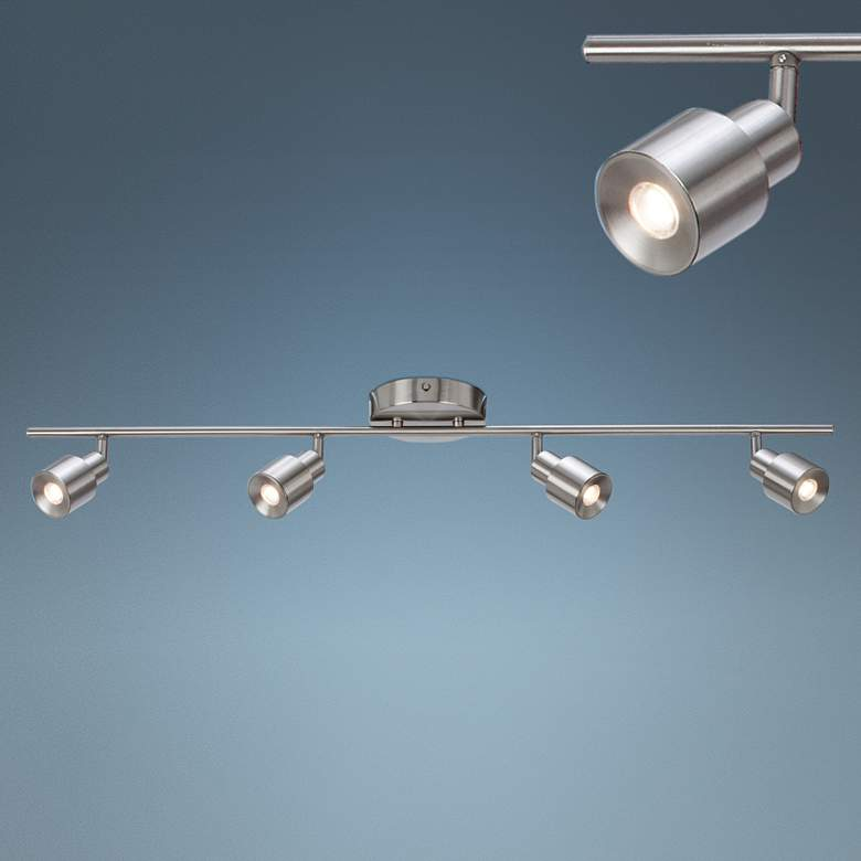 Chappelle 4-Light Satin Nickel LED Track Fixture