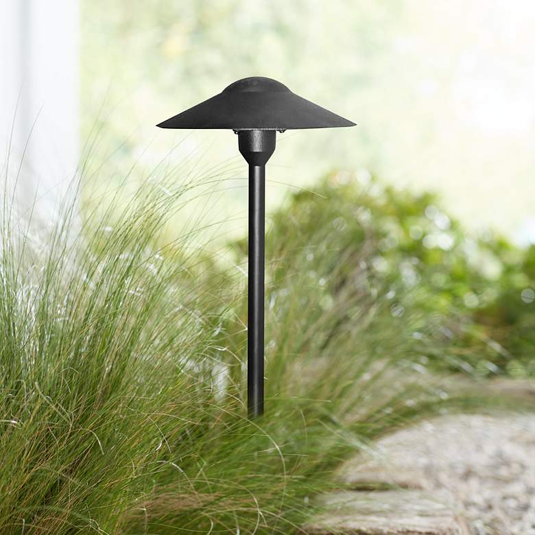 "Feldis 18 1/2"" High Black Landscape Path Light"