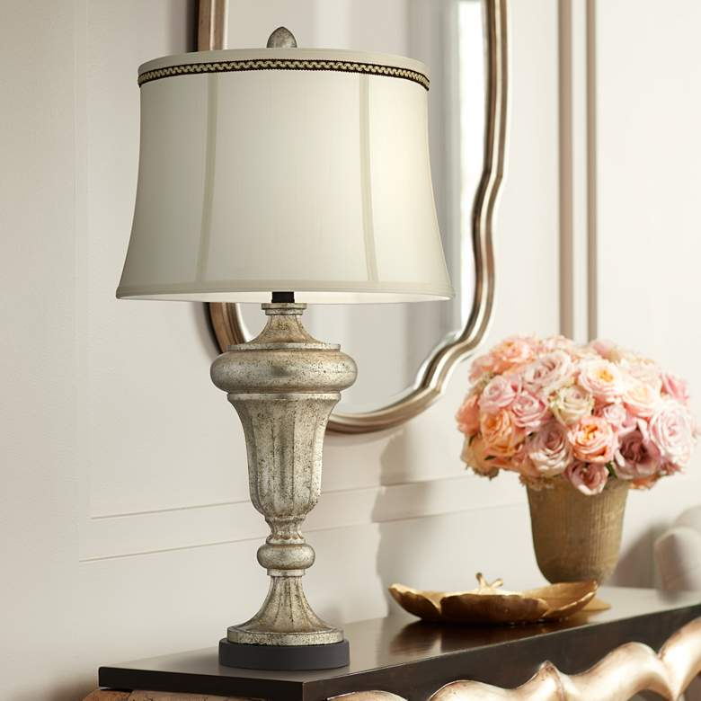 Bristol Park Champagne Patina Urn Table Lamp
