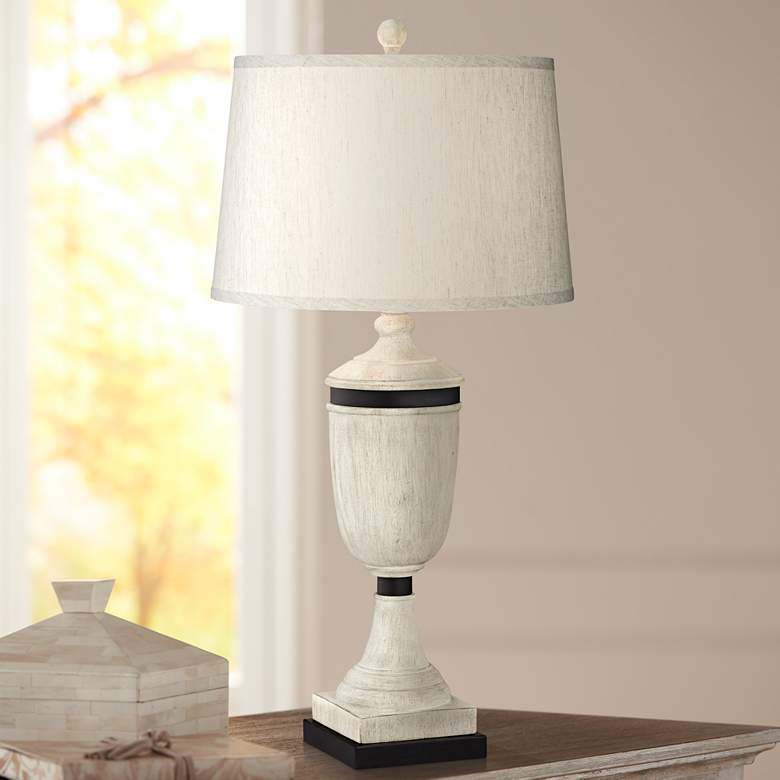 Lyon Natural Urn Table Lamp