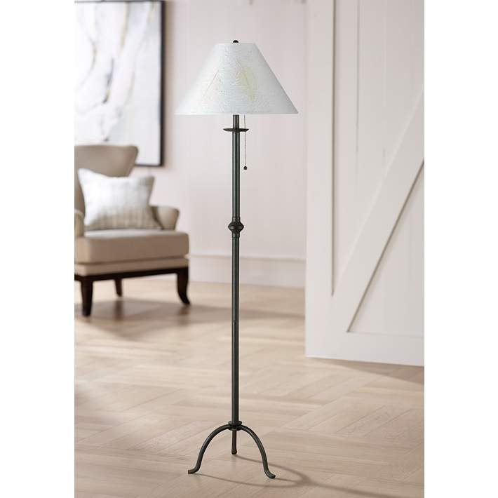Iron Footed Floor Lamp By Cal Lighting