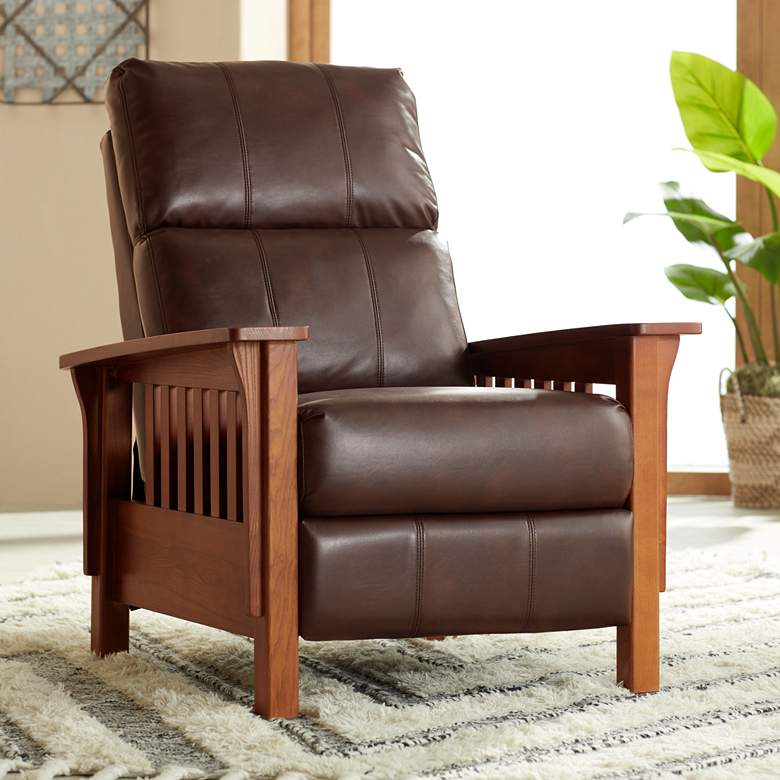 Evan Legends Chocolate 3-Way Recliner Chair