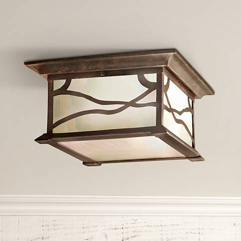 "Kichler Mission Arts and Crafts 12""  Ceiling Light"