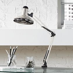 Architect Style Clamp-On Base Desk Lamp