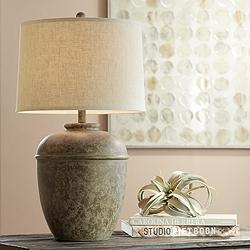Otero Rustic Jug Table Lamp