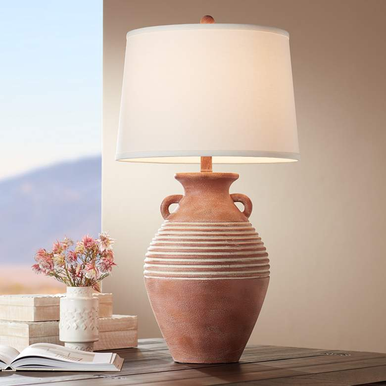 Sierra Southwest Rustic Jug Table Lamp