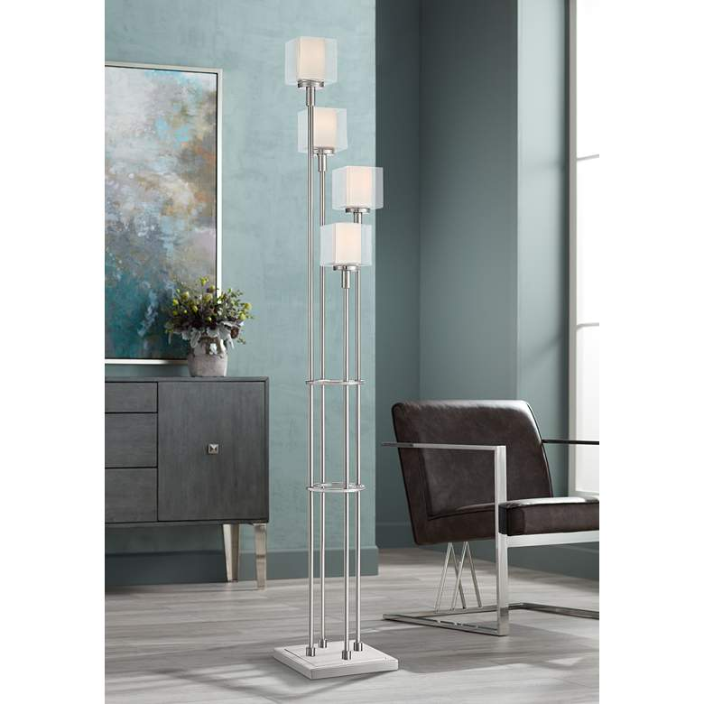 Possini Euro Athena 4-Light Tree Floor Lamp