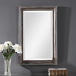 "Gulliver Distressed Blue 21 1/4"" x 32 3/4"" Vanity Mirror"