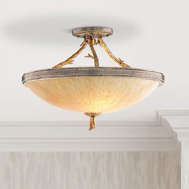 "Corbett Parc Royale 19 1/4"" Wide Semiflush Ceiling Light"