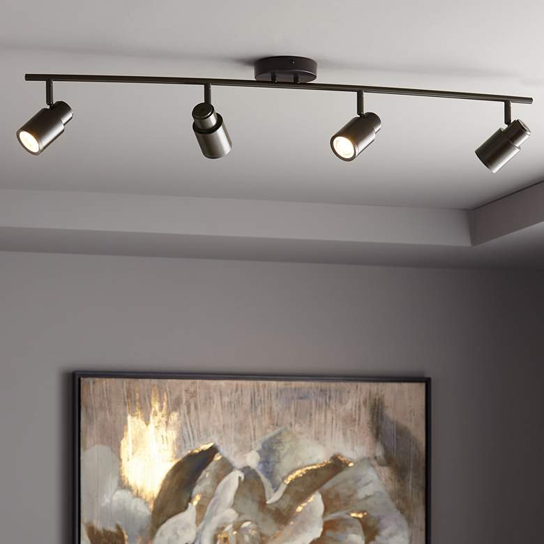 Pro Track Melson 4-Light Bronze LED Track Fixture