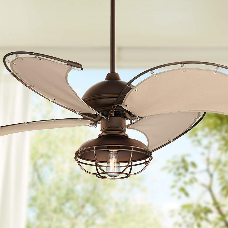 "52"" Cool Vista II Outdoor LED Ceiling Fan"