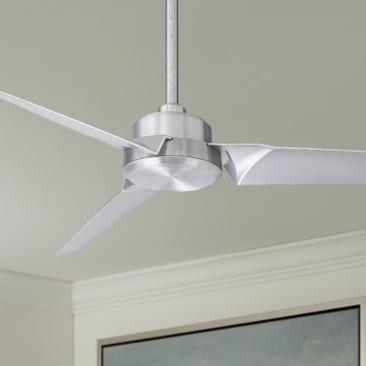 "52"" Modern Forms Roboto  Aluminum Wet Rated Ceiling Fan"
