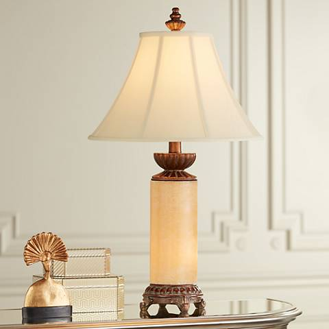 Onyx Stone Night Light Table Lamp