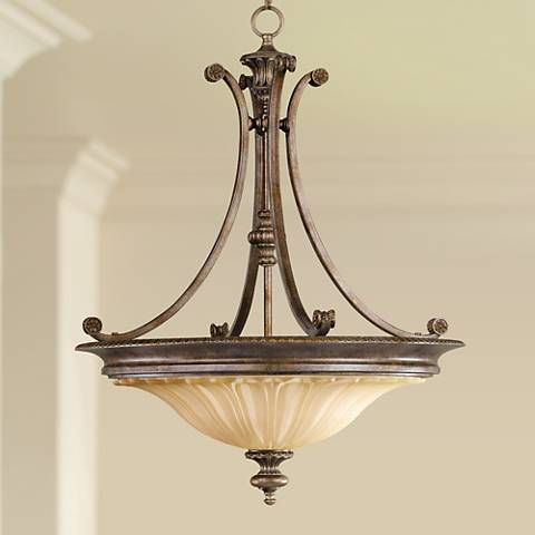 Feiss Stirling Castle Collection 22 Wide Pendant Chandelier