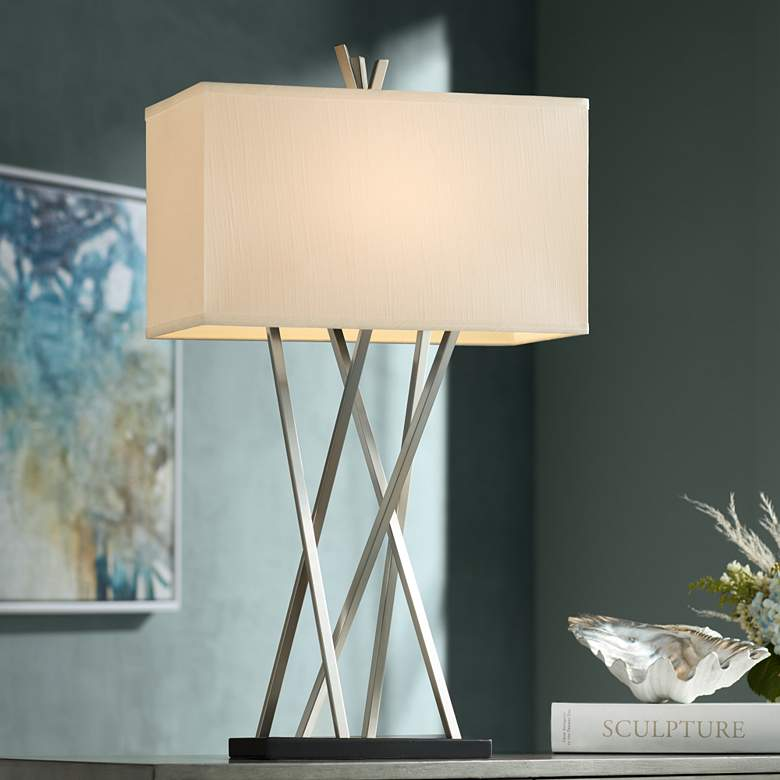 Possini Euro Design Asymmetry Table Lamp