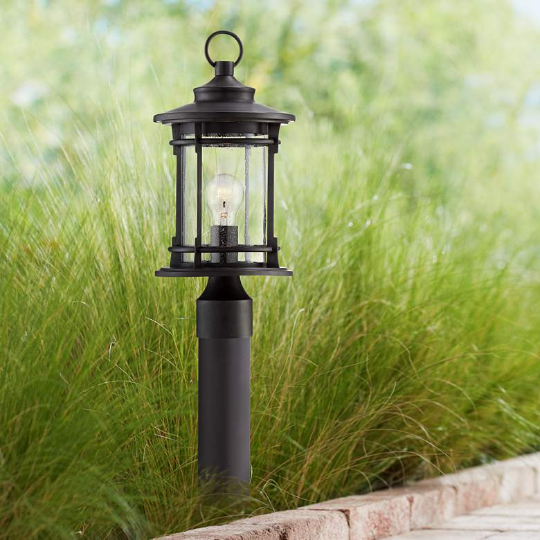 "Grenville 29 1/2"" High Bronze Path Light w/ Low Voltage Bulb"