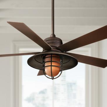 "54"" Rainman Oil Rubbed Bronze Ceiling Fan"