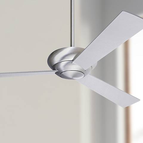 "52"" Modern Fan Company Altus Aluminum Finish Ceiling Fan"