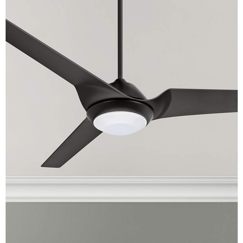 "60"" Emerson Sweep Eco Barbeque Black LED Ceiling Fan"