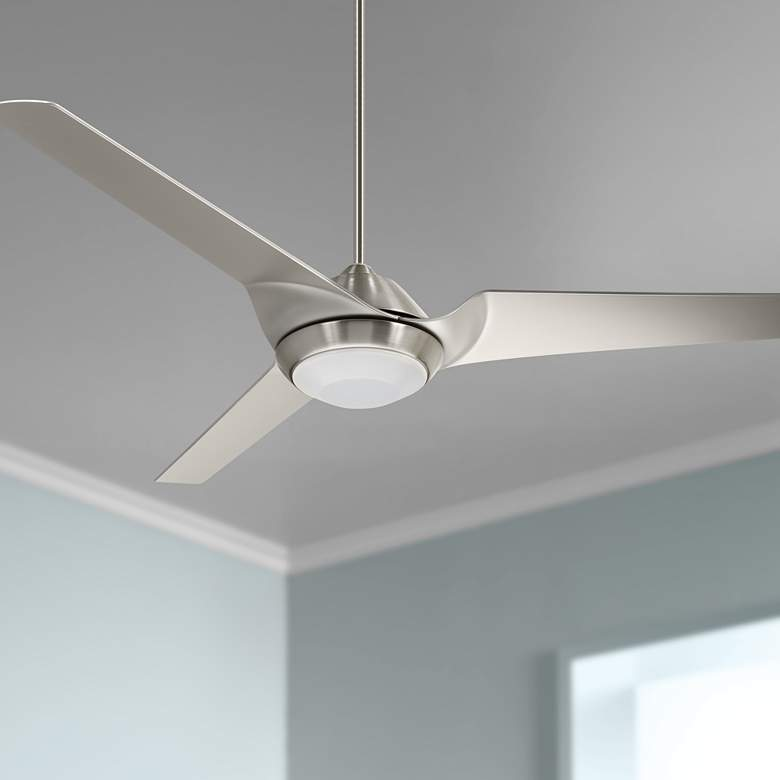 "60"" Emerson Sweep Eco Brushed Steel LED Ceiling"