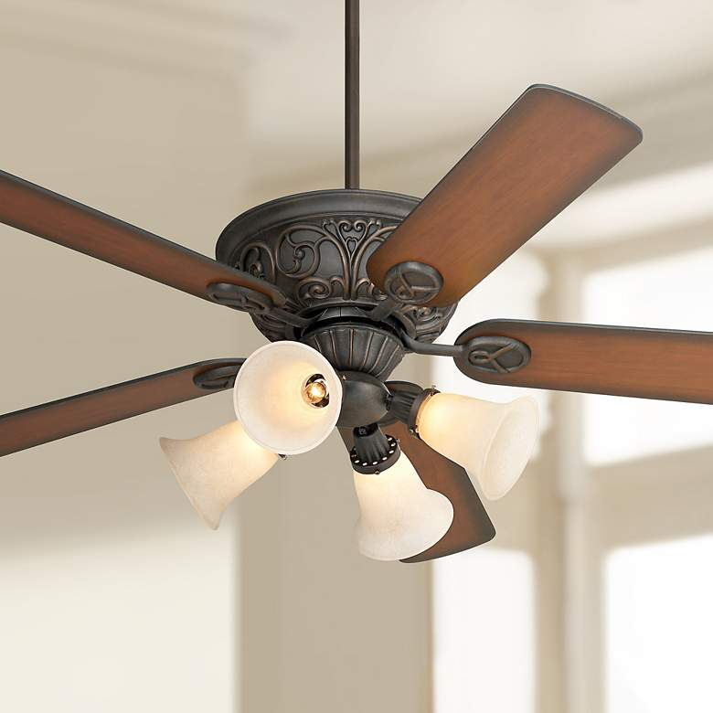 "52"" Casa Contessa™ Bronze LED Ceiling Fan"