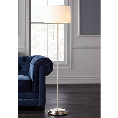 Simplicity Double Pull Floor Lamp