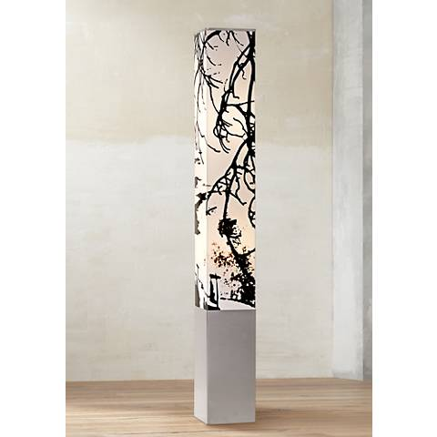Autumn Branch 5.5 Watt Non-Dimmable LED Tower Floor Lamp