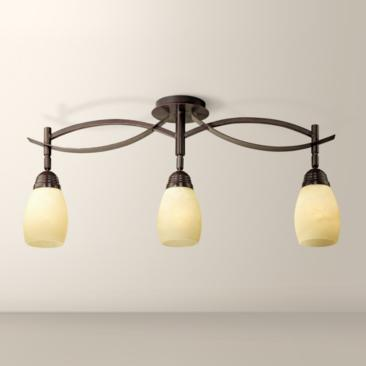 "Modella Collection 31 1/4"" Wide Triple Ceiling Light"