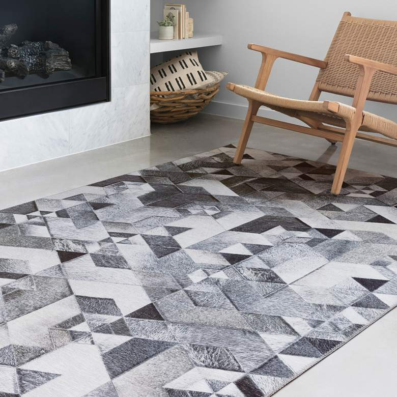 Loloi Maddox MAD-03 Gray and Ivory Area Rug
