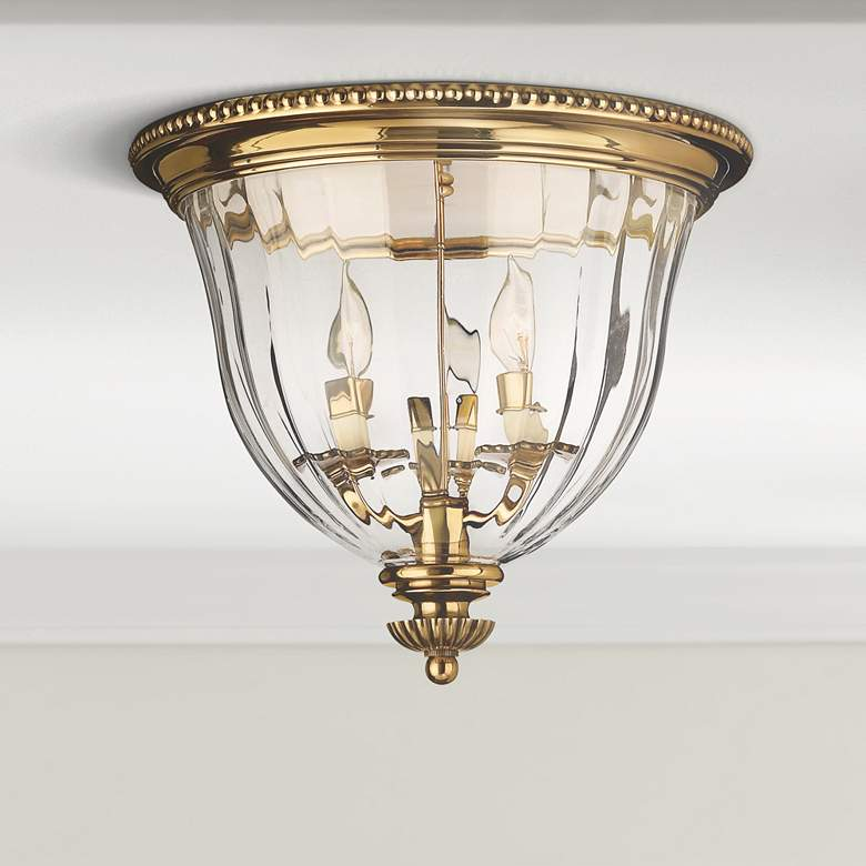Hinkley Cambridge Br 14 1 2 Wide Ceiling Light