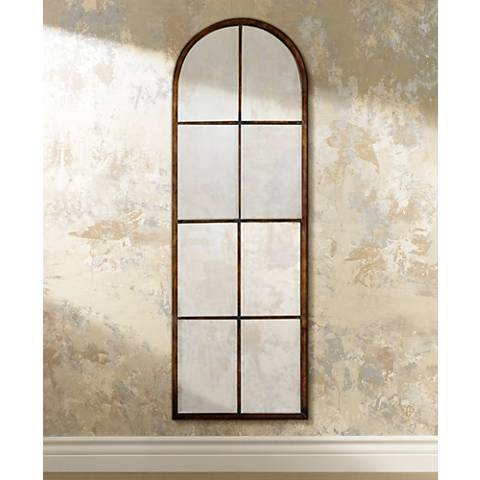 "Uttermost Amiel Arch 50"" High Wall Mirror"