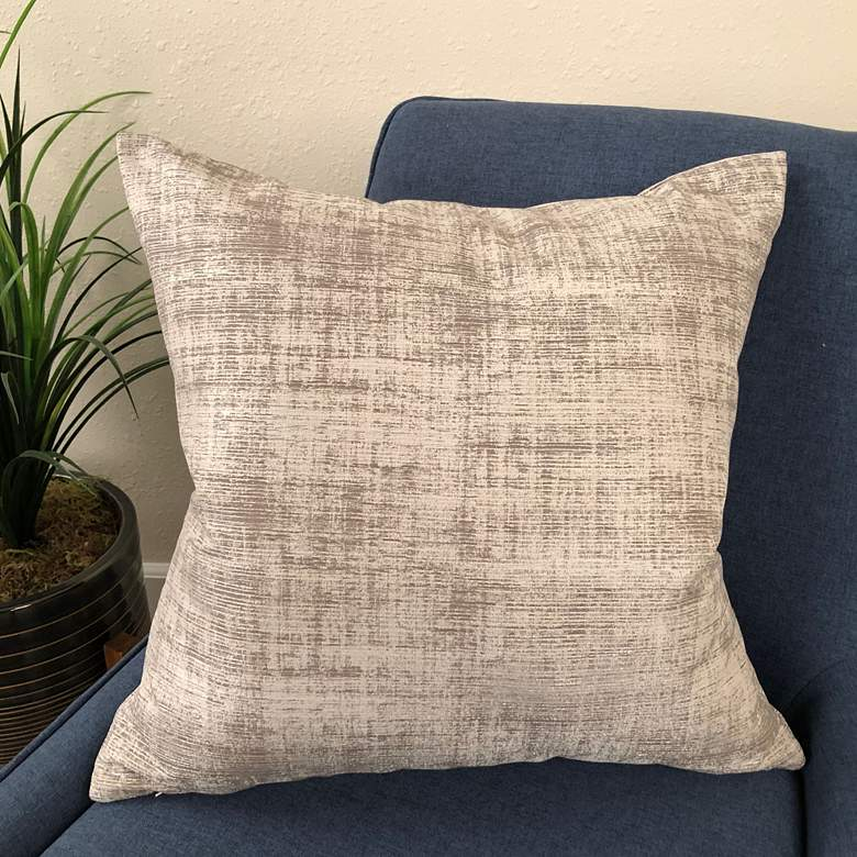 "Coban Stone 20"" Square Decorative Pillow"