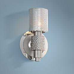 "Ashington 8 1/2"" High Satin Nickel Wall Sconce"