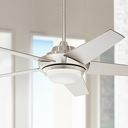 "52"" Ascend™ Brushed Nickel LED Ceiling Fan"