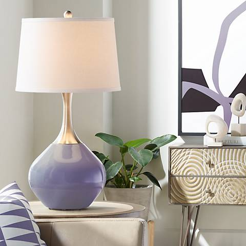 Purple Haze Spencer Table Lamp