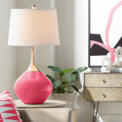 Eros Pink Spencer Table Lamp