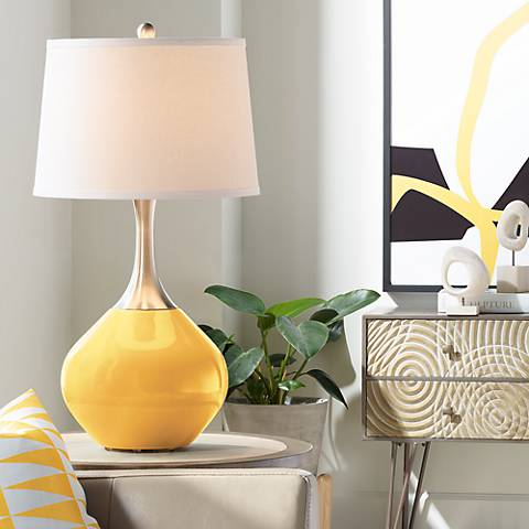 Goldenrod Spencer Table Lamp