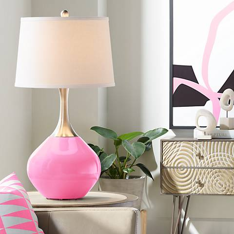 Pale Pink Spencer Table Lamp
